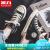 回力女鞋内高身長キャノンスーツ女子高帮2020新型韓国版夏百合板ブーツカップルファッションブーツスニカージュカージュブーツ高身長モデル-ブラック37