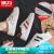 回力白ブーツ2020夏新款凉靴网面通気性ガールブーツファッション百合学校生板ブーツ白--网面38