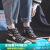 回力女靴高帮キャノンスーツ女2019新型夏季爆改ファッションブーツカップル百合板ブーツ男アップグレード版-黒(女性の方が大きめの方がいいです。男性の方が正常です。)38