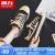 回力女靴キャノンスウェーズ女性2020年秋の新型韓国版通気カジュアブーツulzzing百合板靴黒米