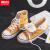 回力女靴高幇キャノンスポーツ2021年新春学生百組保温二綿靴女性冬加絨ケース37